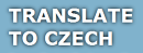 Translate To Czech